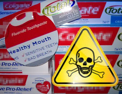 Fluorid – strup v zobnih pastah
