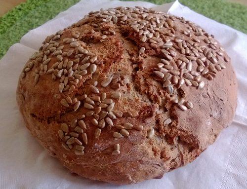 Polnozrnati kruh – domači recept