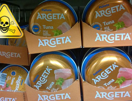 Argeta pašteta – nova podoba, nič manj strupov