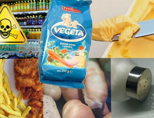 Nezdrava hrana, ki se ji morate izogibati