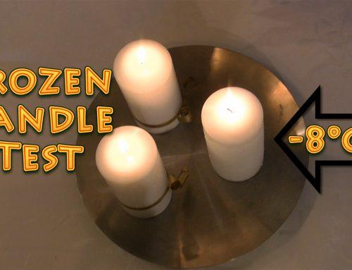 Zamrznjena sveča – preizkus