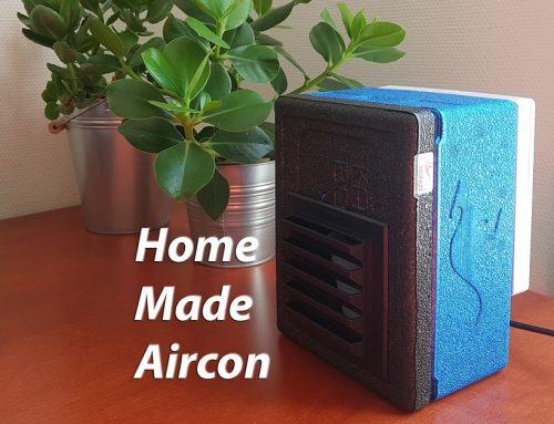 Klimatska naprava narejena doma z minimalnimi stroški