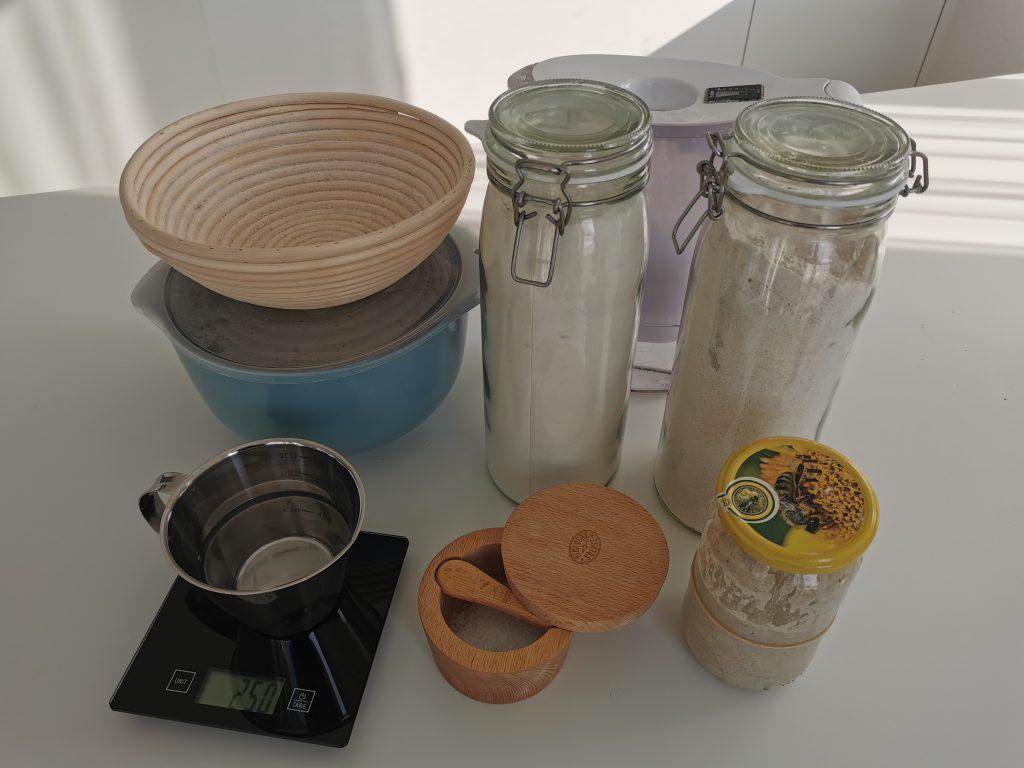 Kruh z droži - sestavine